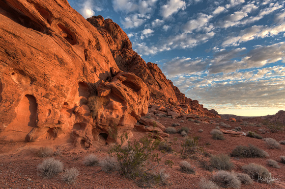 First Light in Valley of Fire